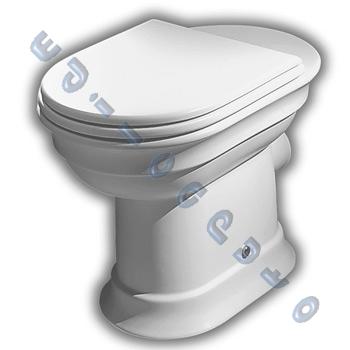 Sanitari bagno dolcevita water scarico a muro bidet for Vaso scarico a parete