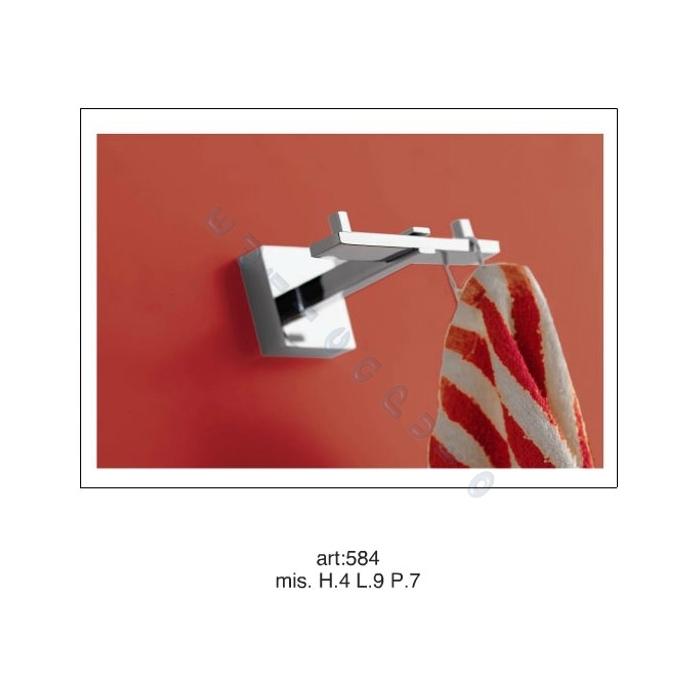 Accessori per bagno appendino porta accappatoio da muro - Porta accappatoio da doccia ...
