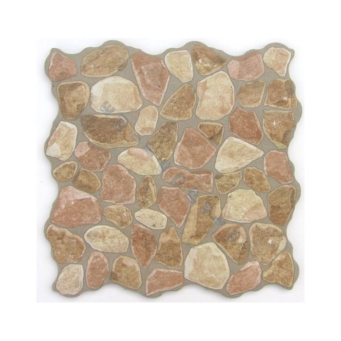 Pavimento o rivestimento in gres porcellanato forma irregolare ...