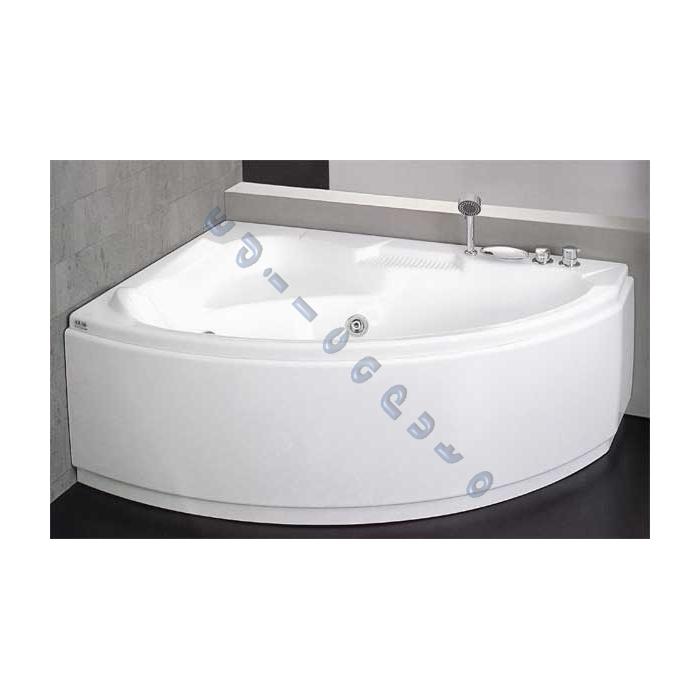 Vasca idromassaggio angolare asimmetrica tiberide cm 150 x105 versione easy su edilcaputo - Misure vasca da bagno angolare ...