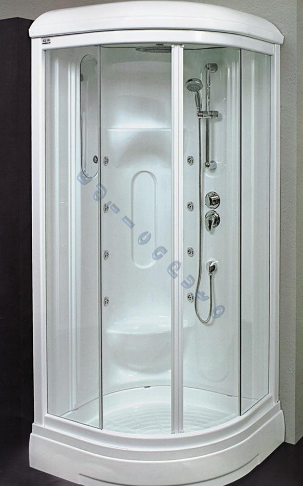 Box cabina doccia idromassaggio e sauna cristallo 6 mm ebay for Box doccia con idromassaggio