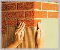 Mattoncino per rivestimento muro interno colore mela fai - Mattoncini per rivestimento interno ...