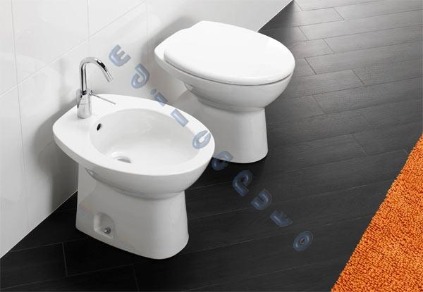 Sanitari bagno serie completa nuova cannes lavabo water for Water e bidet insieme