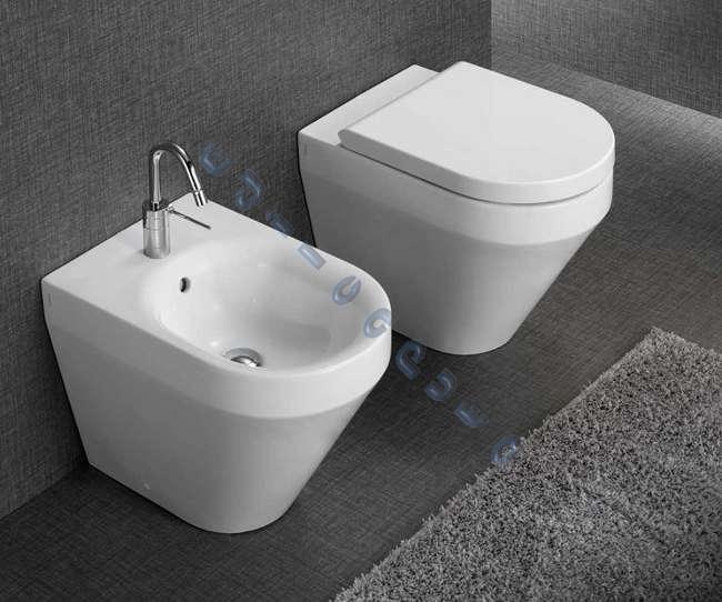 Sanitari bagno water bidet e copriwater daytime evo di for Vater con bidet