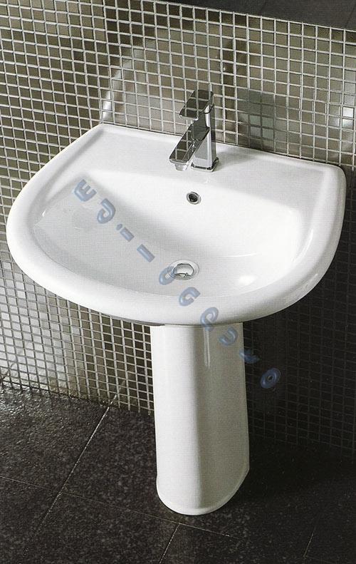 Sanitari bagno light a pavimento terra lavabo colonna vaso - Metodi per andare in bagno ...