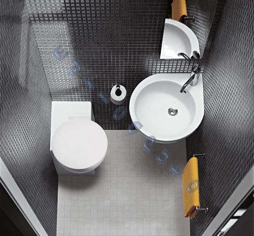 Accessori bagno water design casa creativa e mobili - Bagno in un metro quadro ...