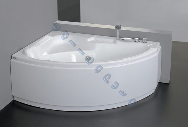 Vasca idromassaggio 150x105 aqualife tiberide classic iva e rubinetteria inclusa ebay - Vasca da bagno angolare misure ...