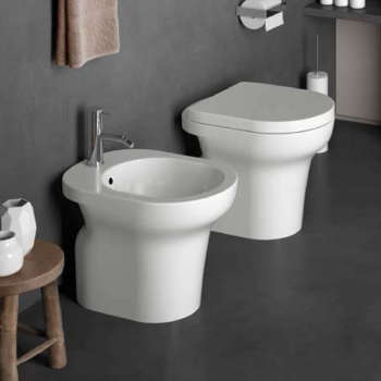 Ceramica Cielo Serie Windsor.Sanitari Bagno Bianco Lucido A Pavimento Modello Jo Di