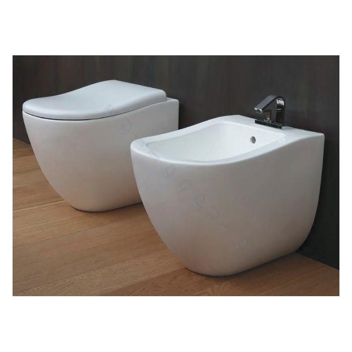 Sanitari per bagno fluid bidet water a pavimento e sedile for Sanitari bagno offerte online