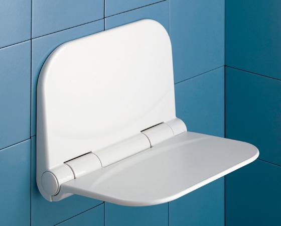 Sedile Per Doccia : Sedile ribaltabile doccia per disabili e anziani dino bianco
