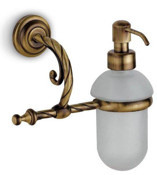 accessori bagno dosatore sapone a muro bronzo cromato e rame ... - Accessori Per Bagni Moderni