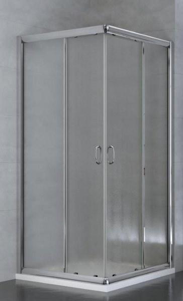 Box doccia 70x90 cristallo 5mm piumato e profilo cromo - Box doccia 70x90 leroy ...