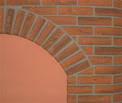 Mattoncino per rivestimento muro interno colore mela fai - Rivestimento muro interno ...