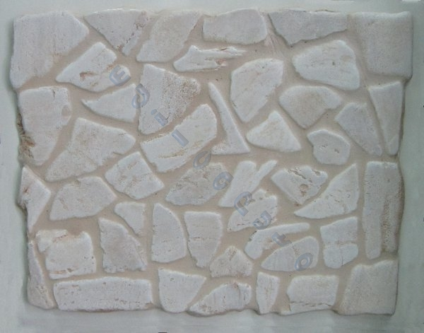 Rivestimento In Pietra Esterno : Rivestimento pavimento ciotoli pietra naturale chiara per interno