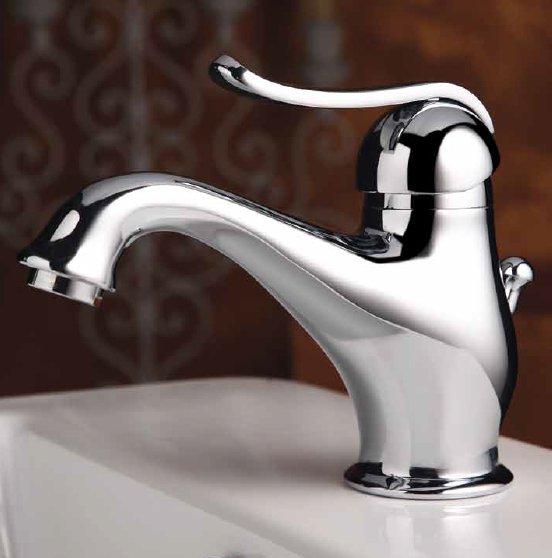 Rubinetto miscelatore lavabo Epoca in ottone cromato per bagno ...