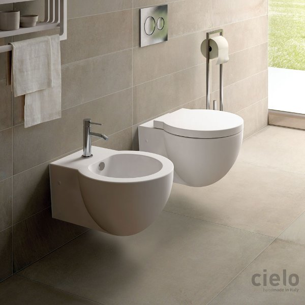 Sanitari bagno sospesi easy bath evo water bidet e for Wc bidet leroy merlin