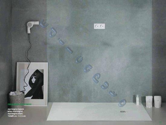 Piatto doccia in vari colori rettangolare 120x80 slim - Piatto doccia marmogres ...