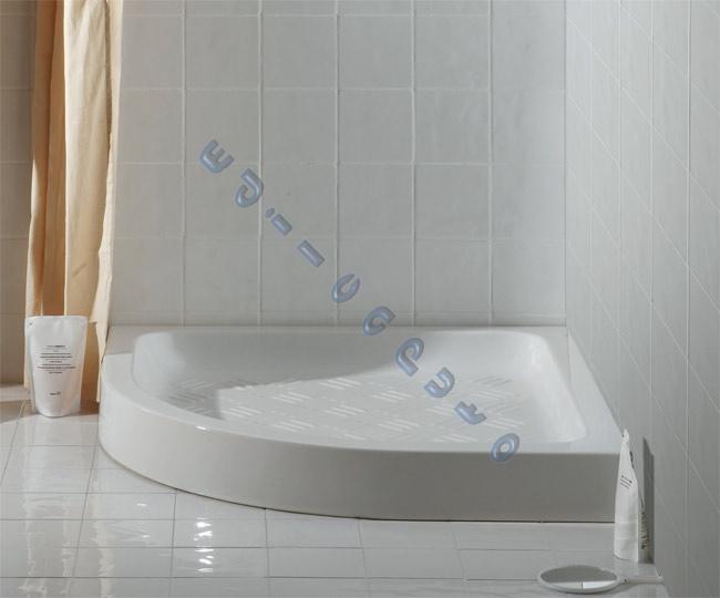Piatto doccia semicircolare in ceramica cm 90x90 cielo ebay for Piatto doccia cielo